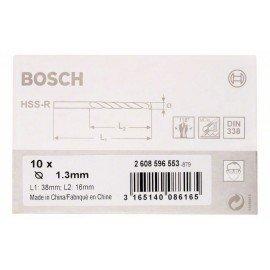 Bosch HSS-R fémfúrók, DIN 338 1,3 x 16 x 38 mm
