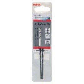 Bosch HSS-R fémfúrók, DIN 338 3,2 x 36 x 65 mm