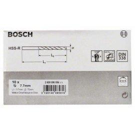 Bosch HSS-R fémfúrók, DIN 338 7,7 x 75 x 117 mm
