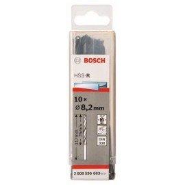 Bosch HSS-R fémfúrók, DIN 338 8,2 x 75 x 117 mm