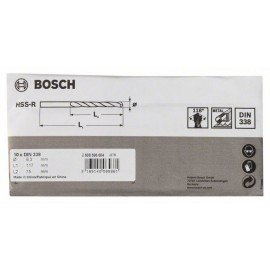 Bosch HSS-R fémfúrók, DIN 338 8,3 x 75 x 117 mm