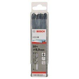 Bosch HSS-R fémfúrók, DIN 338 9,9 x 87 x 133 mm