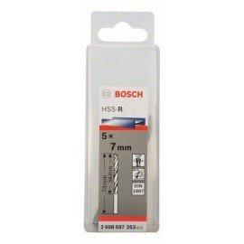 Bosch HSS-R karosszéria fúró, DIN 1897 7 x 34 x 74 mm