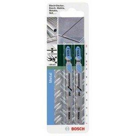 Bosch HSS szúrófűrészlap, T 123 XF Progressor for Metal