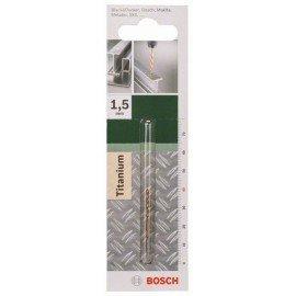 Bosch HSS-TiN fémfúró, DIN 338 D= 1,5 mm; L= 40 mm