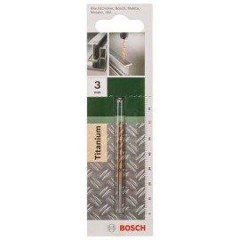Bosch HSS-TiN fémfúró, DIN 338 D= 3,0 mm; L= 61 mm