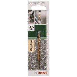 Bosch HSS-TiN fémfúró, DIN 338 D= 3,5 mm; L= 70 mm