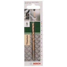 Bosch HSS-TiN fémfúró, DIN 338 D= 5,0 mm; L= 86 mm