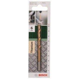 Bosch HSS-TiN fémfúró, DIN 338 D= 6,0 mm; L= 93 mm