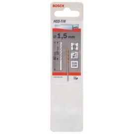 Bosch HSS-TiN fémfúrók, DIN 338 1,5 x 18 x 40 mm