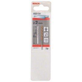 Bosch HSS-TiN fémfúrók, DIN 338 2 x 24 x 49 mm