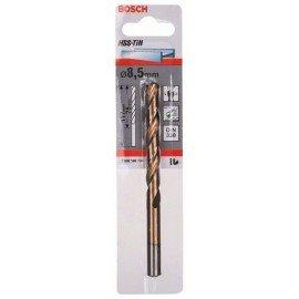 Bosch HSS-TiN fémfúrók, DIN 338 8,5 x 75 x 117 mm