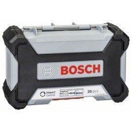 Bosch Impact Control HSS fúró- és csavarhúzókészlet, 35 darabos