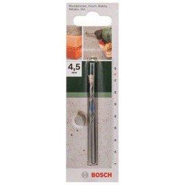 Bosch ISO 5468 szabvány szerinti betonfúró D= 4,5 mm; L= 75 mm