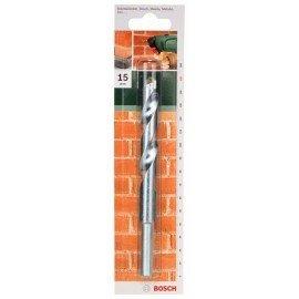Bosch ISO 5468 szabvány szerinti kőzetfúró D= 15,0 mm; L= 150 mm
