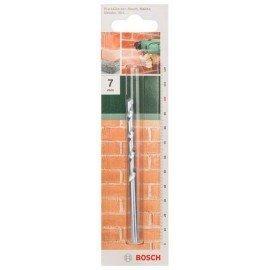Bosch ISO 5468 szabvány szerinti kőzetfúró D= 7,0 mm; L= 100 mm