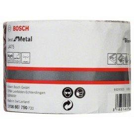 Bosch J475 szövet csiszolóanyag tekercs 50 mm, 5 m, 80