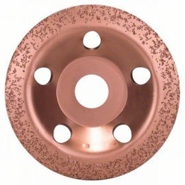 Bosch Keményfém fazékkorong 115 x 22,23 mm; finom, ferde