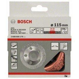 Bosch Keményfém fazékkorong 115 x 22,23 mm; közepes, ferde