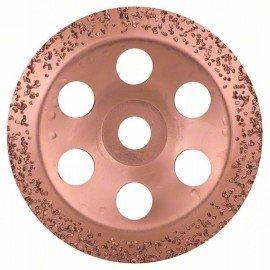 Bosch Keményfém fazékkorong 180 x 22,23 mm; durva, ferde
