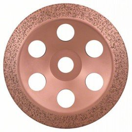 Bosch Keményfém fazékkorong 180 x 22,23 mm; finom, ferde