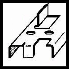 Bosch Keresztfuratos süllyesztõ 14,0 mm, 5-10, 48 mm, 8 mm
