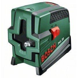 Bosch Keresztvonalas szintezőlézer függélyező funkcióval PCL 20