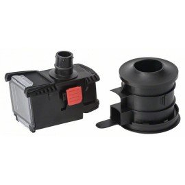 Bosch Készlet fúrókorona adapterrel és porszűrő dobozzal -