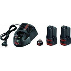 Bosch Kezdőkészlet: 2 x GBA 12V 2.0Ah + GAL 1230 CV
