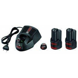 Bosch Kezdőkészlet: 2 x GBA 12V 3,0 Ah + GAL 1230 CV