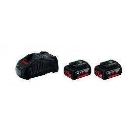 Bosch Kezdőkészlet: 2 x GBA 18V 6.0 Ah + GAL 1880 CV