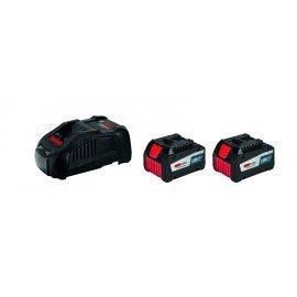 Bosch Kezdőkészlet: 2x GBA 18V 6,3 Ah EneRacer + GAL 1880 CV