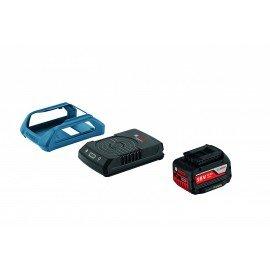 Bosch Kezdőkészlet: GBA 18V 4.0Ah W + GAL 1830 W vezeték nélküli töltő