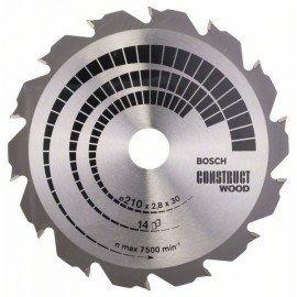 Bosch Körfűrészlap, Construct Wood 210 x 30 x 2,8 mm; 14