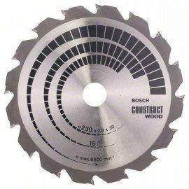 Bosch Körfűrészlap, Construct Wood 230 x 30 x 2,8 mm; 16