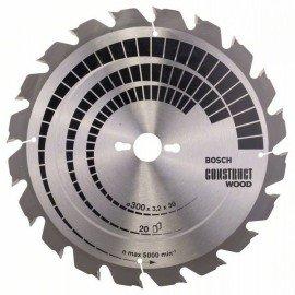 Bosch Körfűrészlap, Construct Wood 300 x 30 x 3,2 mm; 20