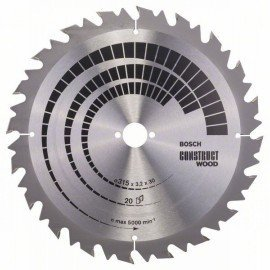 Bosch Körfűrészlap, Construct Wood 315 x 30 x 3,2 mm; 20