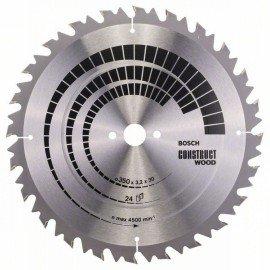 Bosch Körfűrészlap, Construct Wood 350 x 30 x 3,2 mm; 24
