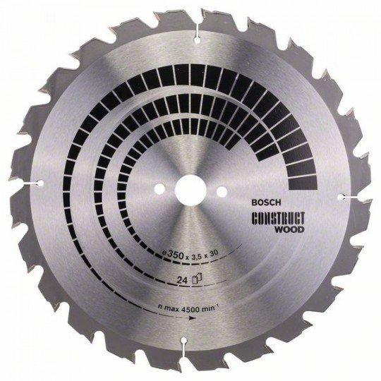 Bosch Körfűrészlap, Construct Wood 350 x 30 x 3,5 mm; 24