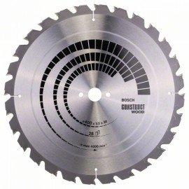 Bosch Körfűrészlap, Construct Wood 400 x 30 x 3,5 mm; 28