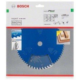 Bosch Körfűrészlap, Expert for Wood 165 x 20 x 2,6 mm, 48