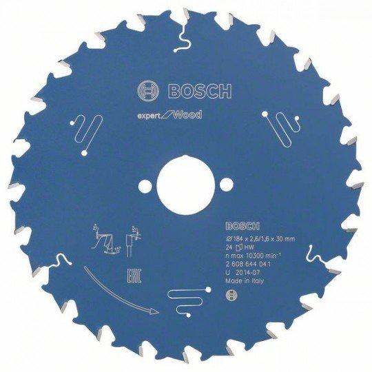 Bosch Körfűrészlap, Expert for Wood 184 x 30 x 2,6 mm, 24