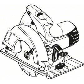 Bosch Körfűrészlap, Expert for Wood 190 x 20 x 2,6 mm, 56