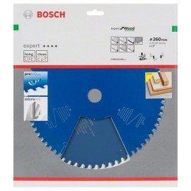 Bosch Körfűrészlap, Expert for Wood 260 x 30 x 2,4 mm, 60