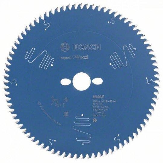Bosch Körfűrészlap, Expert for Wood 260 x 30 x 2,8 mm, 80