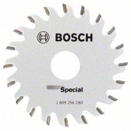Bosch Körfűrészlap merülő- és kézi körfűrészekhez D= 65 mm; Furat= 15 mm; Z= 20