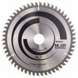 Bosch Körfűrészlap, Multi Material 210 x 30 x 2,4 mm; 54