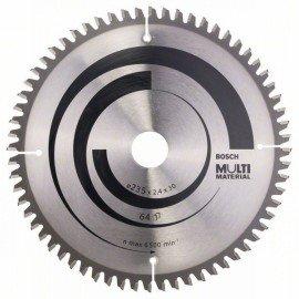 Bosch Körfűrészlap, Multi Material 235 x 30/25 x 2,4 mm; 64