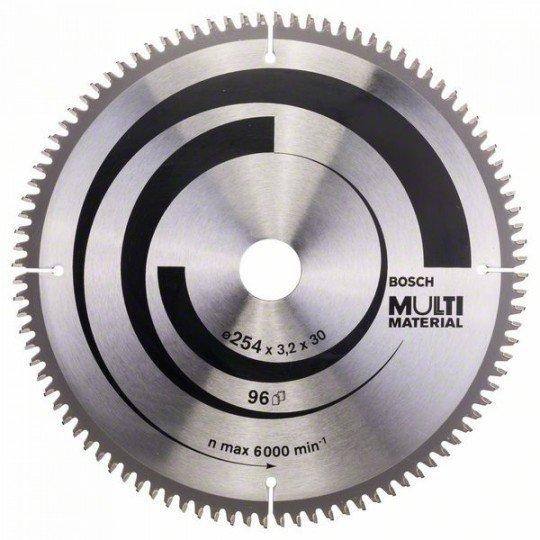 Bosch Körfűrészlap, Multi Material 254 x 30 x 3,2 mm; 96
