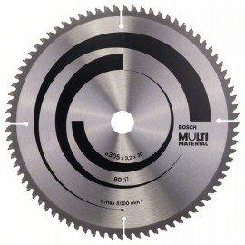 Bosch Körfűrészlap, Multi Material 305 x 30 x 3,2 mm; 80